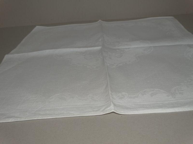 5 leinen damast servietten textilien tischw sche wei. Black Bedroom Furniture Sets. Home Design Ideas