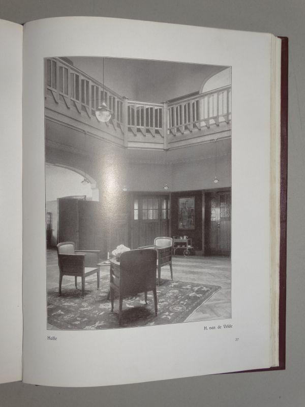 Moderne kultur 2 b nde jugendstil innenarchitektur m bel einrichtung 1907 ebay - Jugendstil innenarchitektur ...